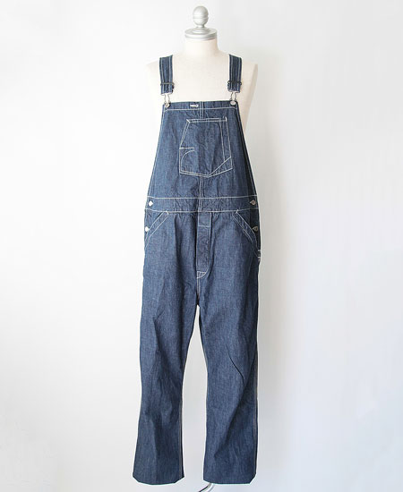 FREEWHEELERS フリーホイーラーズ THE IRONALL FACTORIES CO. Lot 101 DENIM HIGH-BACK OVERALLS