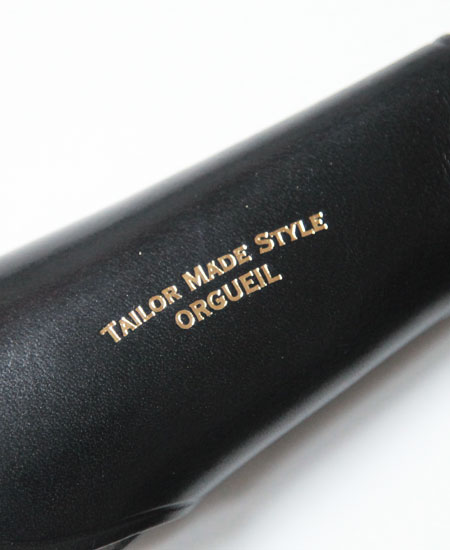 ORGUEIL オルゲイユ OR-7075 Shoehorn Key Case シューホーンキーケース(BLACK)