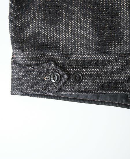 FREEWHEELERS フリーホイーラーズ LUMPER (GRAINED BLACK STRIPE × BLACK)