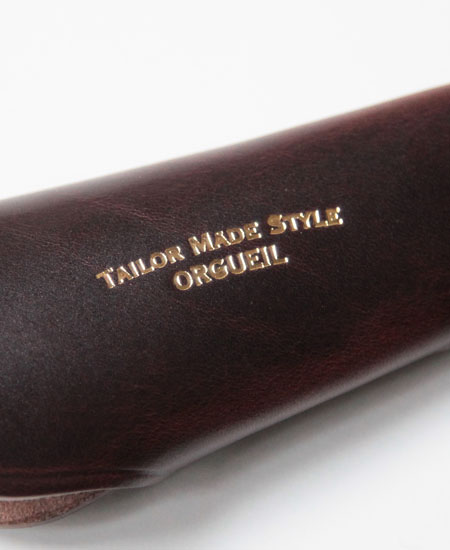 ORGUEIL オルゲイユ OR-7075 Shoehorn Key Case シューホーンキーケース (BROWN)