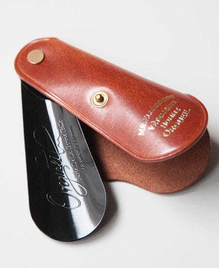 ORGUEIL オルゲイユ OR-7075 Shoehorn Key Case シューホーンキーケース (CAMEL)