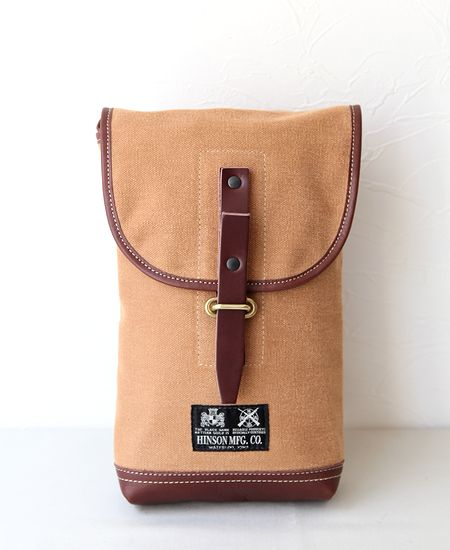 "【別注】 COLIMBO コリンボ "" HINSON AMMO POUCH "" - CANVAS × LEATHER -"
