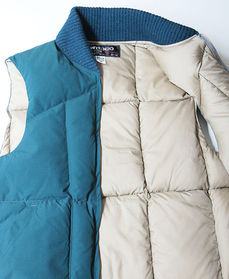 "【再入荷】COLIMBO コリンボ "" TEMPCO "" SIGNATURE FZ DOWN VEST (BLUE)"