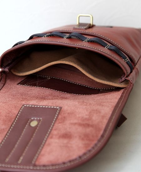 "【別注】 COLIMBO コリンボ "" HINSON AMMO POUCH "" - LEATHER × LEATHER -"