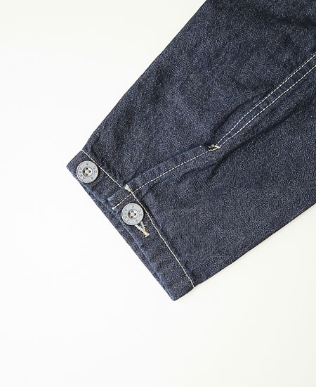 COLIMBO コリンボ S.R.GARRISON ARMY DENIM BROUSE