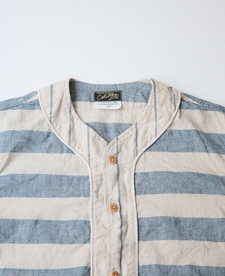 COLIMBO コリンボ WEEKSUILLE PLAY SHIRT S/S (BORDER)