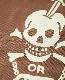 """FREEWHEELERS フリーホイーラーズ  TURTLE NECK LONG SLEEVE """" N.C.D.U. 7TH NBB """" (BROWN)"""