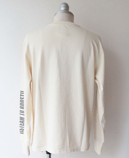 【再入荷】COLIMBO コリンボ FAIRFIELD LONG TEE SHIRT (ECRU)