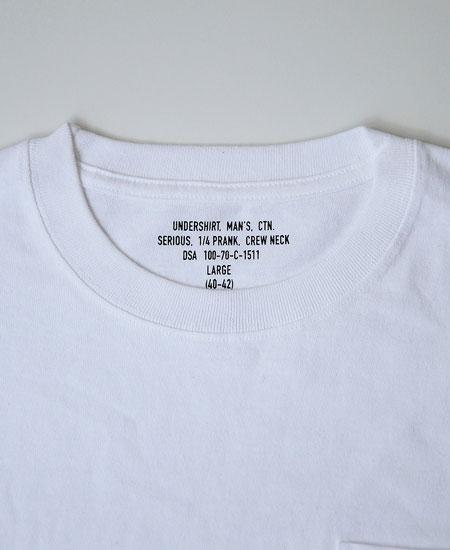 SECRET WORDS シークレットワーズ MILITARY PACK-T (WHITE)
