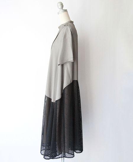 mintdesigns ミントデザインズ ZIP FLARE DRESS