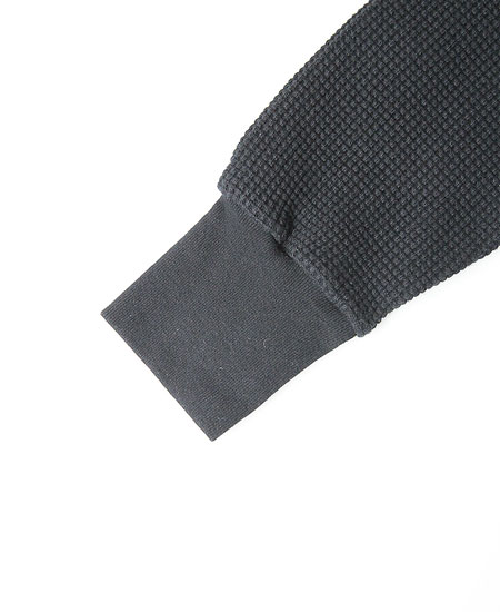COLIMBO コリンボ DUNE-CHURCH COMBAT WAFFLE SHIRT (BLACK)