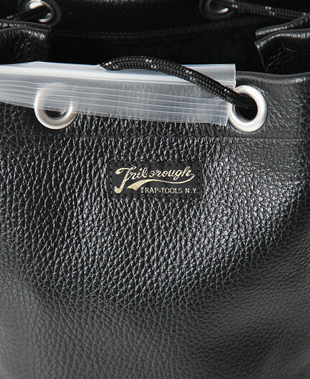 COLIMBO コリンボ JELLYSTONE LEATHER POUCH (BLACK)