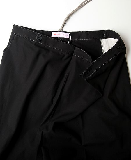 mintdesigns ミントデザインズ SUSPENDER PANTS