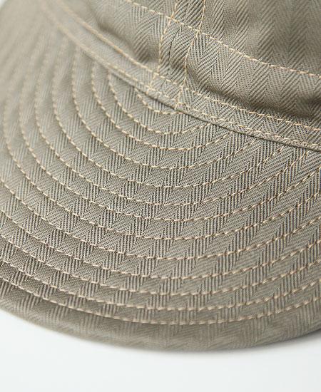 FREEWHEELERS フリーホイーラーズ MECHANIC CAP メカニックキャップ (OLIVE)