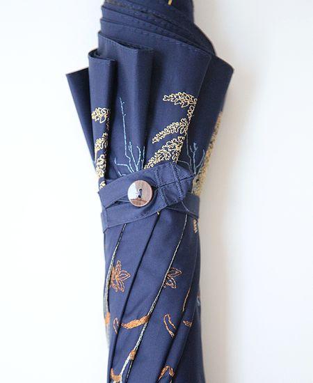 muuc ムーク ボタニカル刺繍の雨天兼用日傘