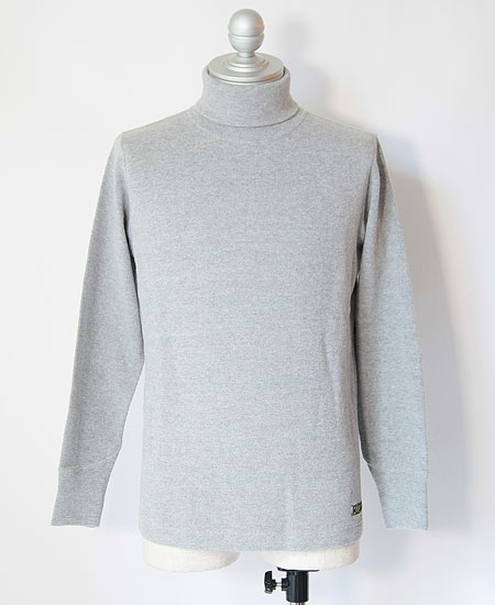 COLIMBO コリンボ NEW KIRK TURTLENECK THERMAL (MOCK GRAY)