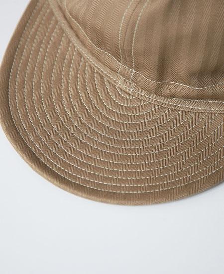 FREEWHEELERS フリーホイーラーズ MECHANIC CAP メカニックキャップ (KHAKI BEIGE)