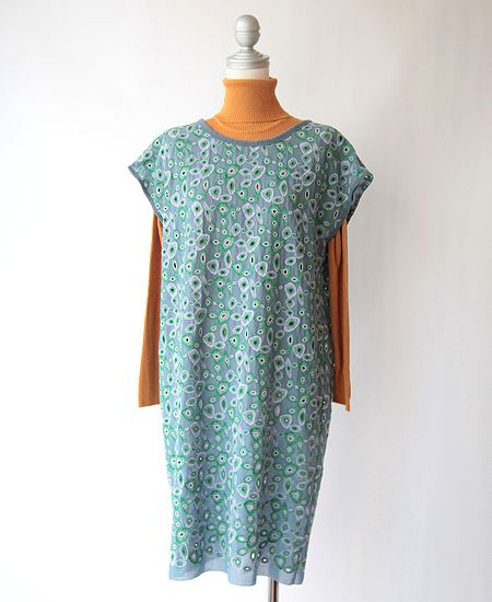【SALE】 mina perhonen ミナペルホネン light net ライトネット ワンピース ドレス
