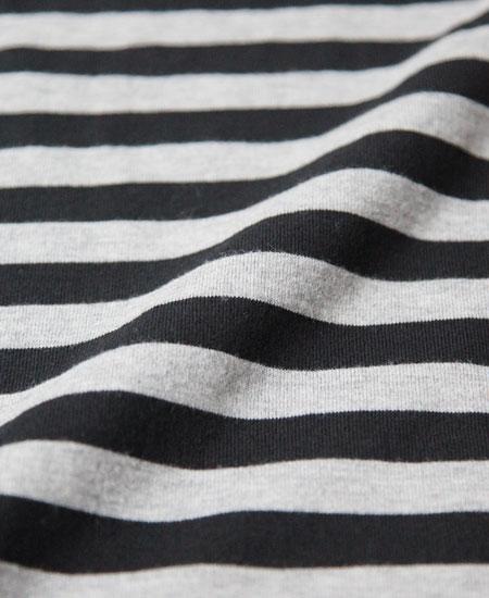 【再入荷】COLIMBO コリンボ GREN COVE STRIPE SHIRT L/S (GRAY BLACK)