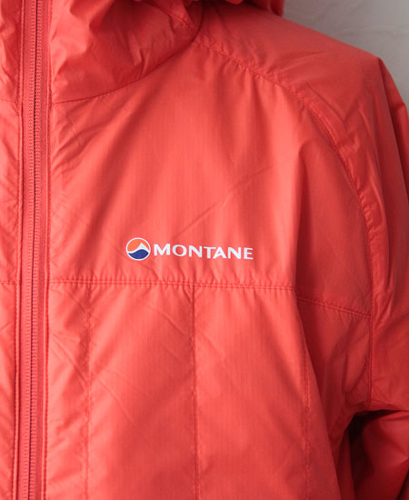 MONTANE モンテイン PRISM JACKET プリズム ジャケット (BURNT ORANGE)