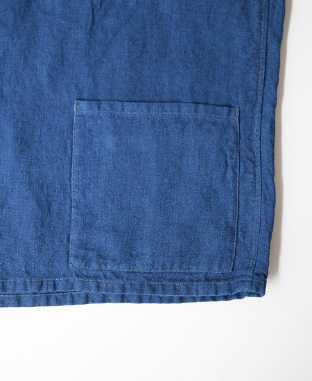 COLIMBO コリンボ PETER HEAD FISHERMAN SMOCK (BLUE INDIGO)