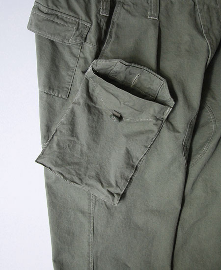 COLIMBO コリンボ HOLY LOCH SUBMARINER PANTS (MOSS GRAY)
