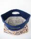 【SALE】 mina perhonen ミナペルホネン flag bag -wind basket- フラッグバッグ 小 ウィンドバスケット