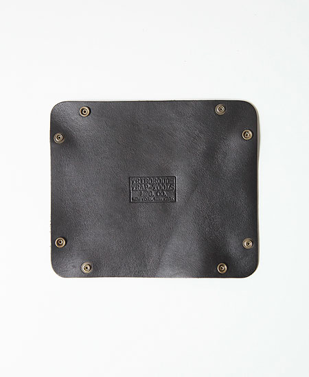 【別注】COLIMBO コリンボ ORIGINAL FOLDING LEATHER TRAY (BLACK)