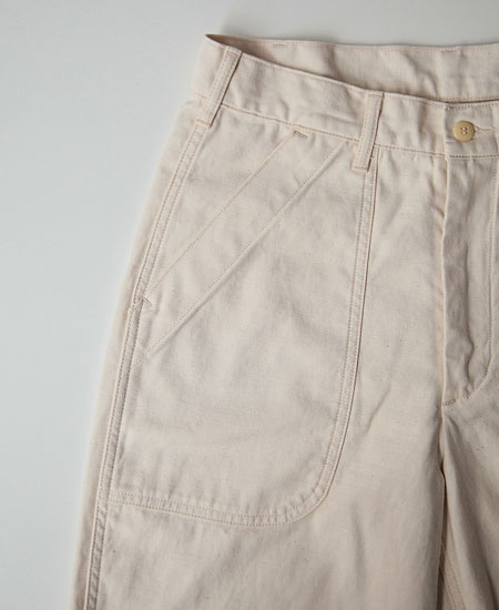 COLIMBO コリンボ BUNKER HILL H-DIST PANTS (MILKY WHITE)