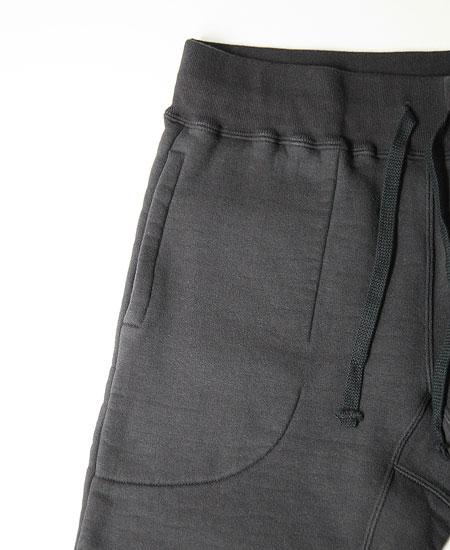 COLIMBO コリンボ ROTC SHACK HEAVY WT.SWEAT PANTS - MERCHANT MARINE ACADEMY 74 - (BLACK)