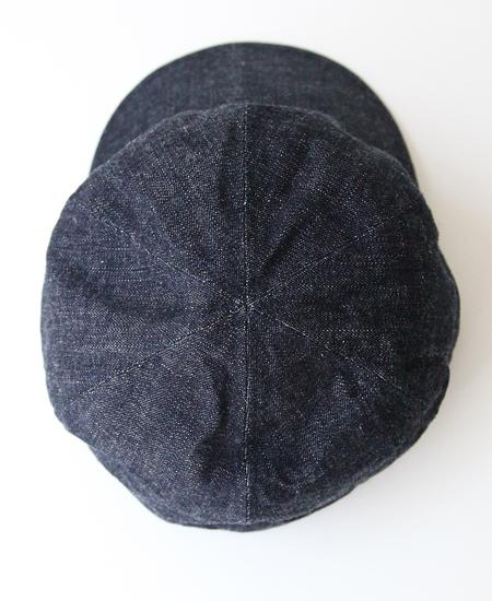STEVENSON OVERALL CO. スティーブンソンオーバーオール MECHANIC CAP (INDIGO)