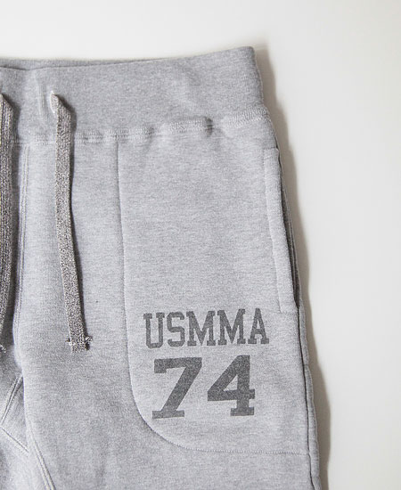 COLIMBO コリンボ ROTC SHACK HEAVY WT.SWEAT PANTS - MERCHANT MARINE ACADEMY 74 - (MOCK GRAY)