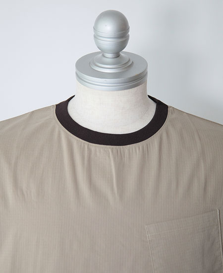 COLIMBO コリンボ EXCELSIOR DRY POCKET TEE S/S (SAND BEIGE)