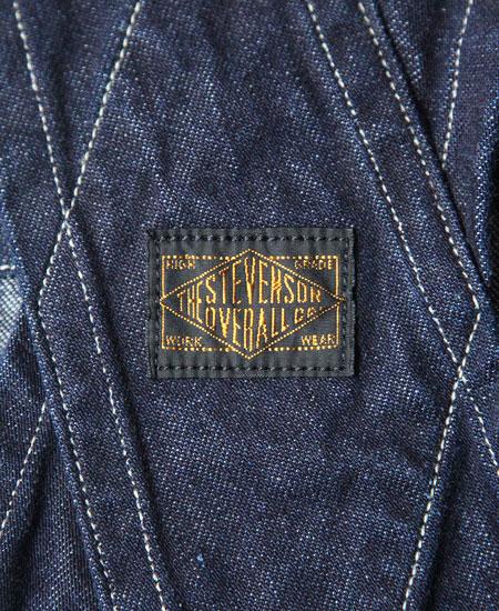 STEVENSON OVERALL CO. スティーブンソン オーバーオール FARM-ORR (11oz DENIM)