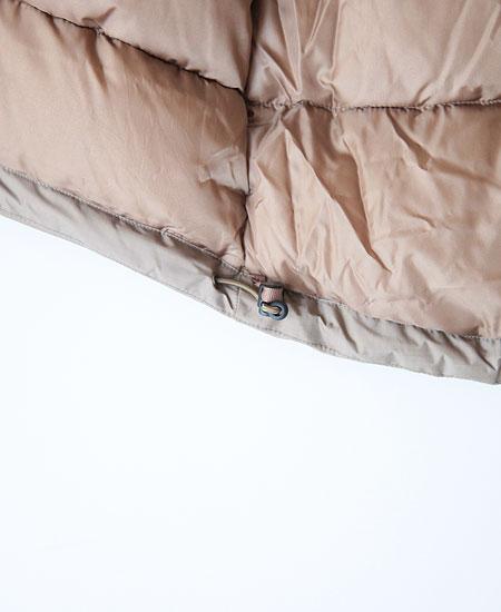 NANGA ナンガ AURORA STAND COLLAR DOWN JACKET ( COYOTE)