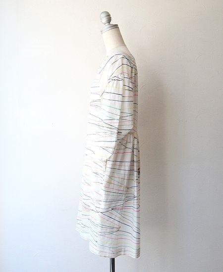 【SALE】 mina perhonen ミナペルホネン ray レイ ワンピース ドレス