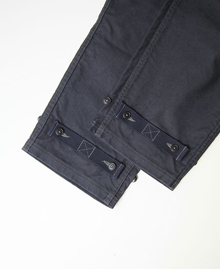COLIMBO コリンボ OLD MIDSHIPMEN'S BIB OVERALL (NAVY)