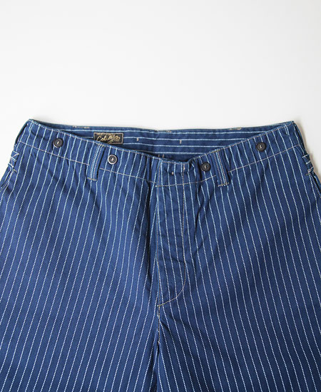 COLIMBO コリンボ ORIGINAL WESTSIDE WORK PANTS (WABASH STRIPE)
