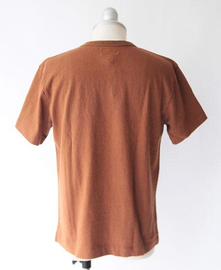 COLIMBO コリンボ FAIR FIELD TEE SHIRT - U.S.NAVAL ACODEMY 72 - (BROWN)