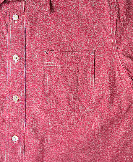 COLIMBO コリンボ SANDLEAD WORK SHIRT (RED)