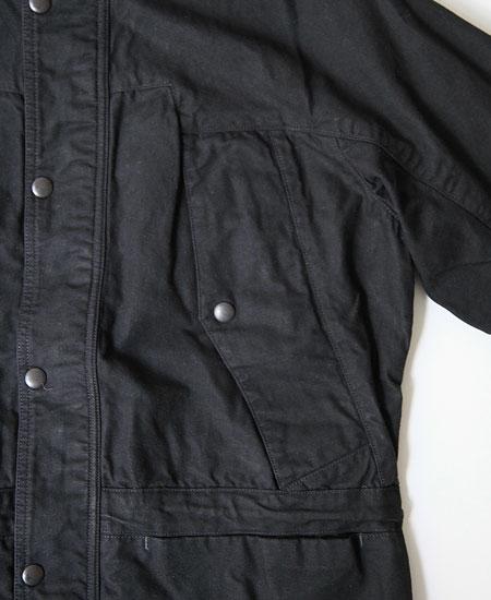 COLIMBO コリンボ BUFFALO JAKE ALL-ROUND PARKA (BLACK)