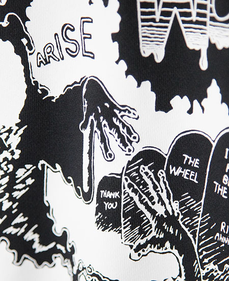 SECRET WORDS シークレット ワーズ THANK THE DEAD (NIGHTMARE BLACK)