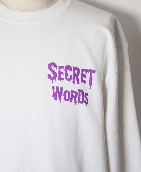 SECRET WORDS シークレット ワーズ THANK THE DEAD (SKULL WHITE)