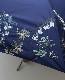 everlasting sprout エバーラスティングスプラウト 果実花刺繍の雨天兼用日傘 (折りたたみ傘)