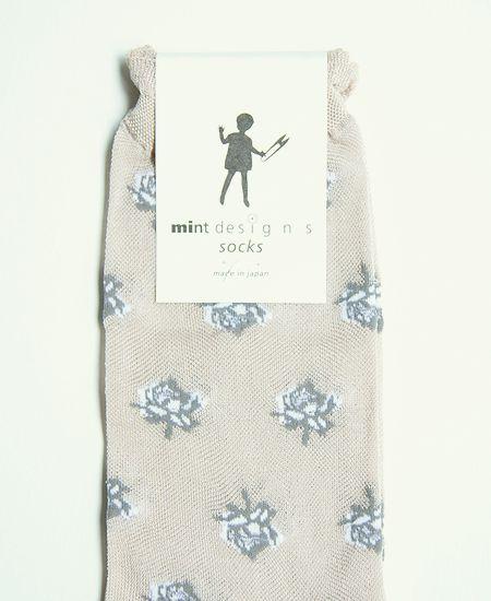 mintdesigns ミントデザインズ ROSE SOCKS