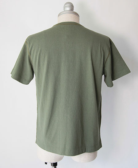 COLIMBO コリンボ LUNA-PARK PRINTED TEE (FOREST GREEN)