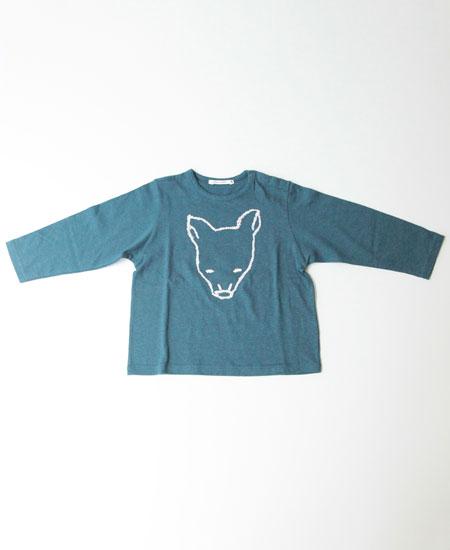 【SALE】 mina perhonen ミナペルホネン bestie  ベスティー (仔犬) 長袖Tシャツ (Kids)