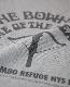 COLIMBO コリンボ LUNA-PARK PRINTED TEE (MOCK GRAY)