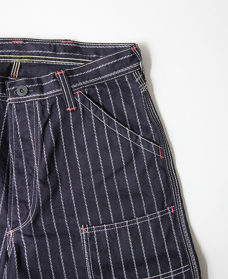 FREEWHEELERS フリーホイーラーズ DERRICKMAN デリックマン (NATIVE PATTERN STRIPE)