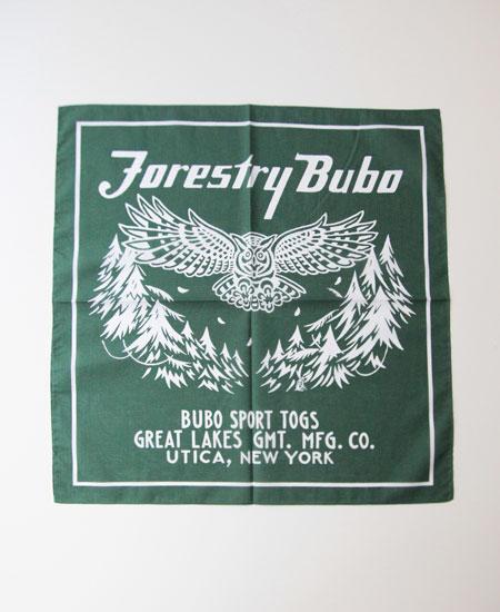 "FREEWHEELERS フリーホイーラーズ "" FORESTRY BUBO "" BANDANA"